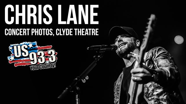 Chris Lane, Clyde Theatre, January 16th