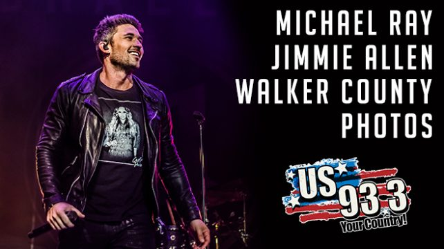 Michael Ray, Jimmie Allen & Walker County Photos